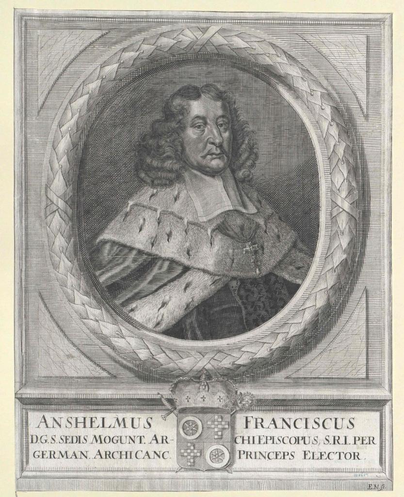 Ingelheim, Anselm Franz von
