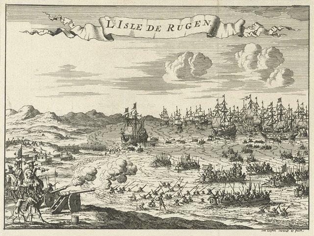 Invasie van Rügen, 1678