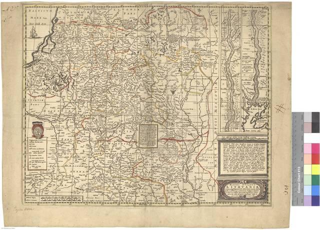 Magni Ducatus Lithuaniae : Caeterarumq Regionum illi adiacentium exsacta descrip [Mapa]