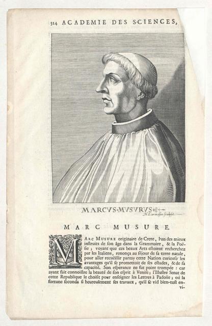 Musurus, Marcus