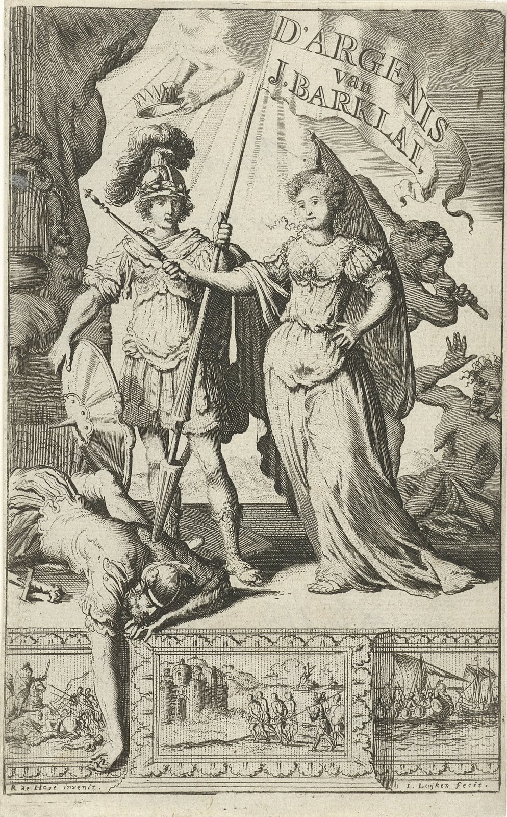 Vorstin en een Romeinse krijgsman