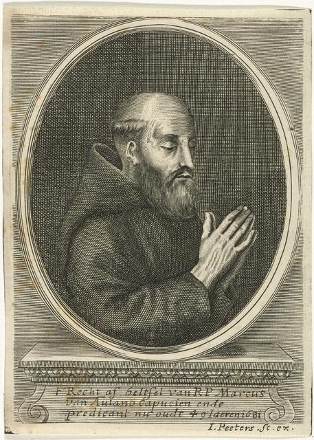 Portret van Marcus van Aulano