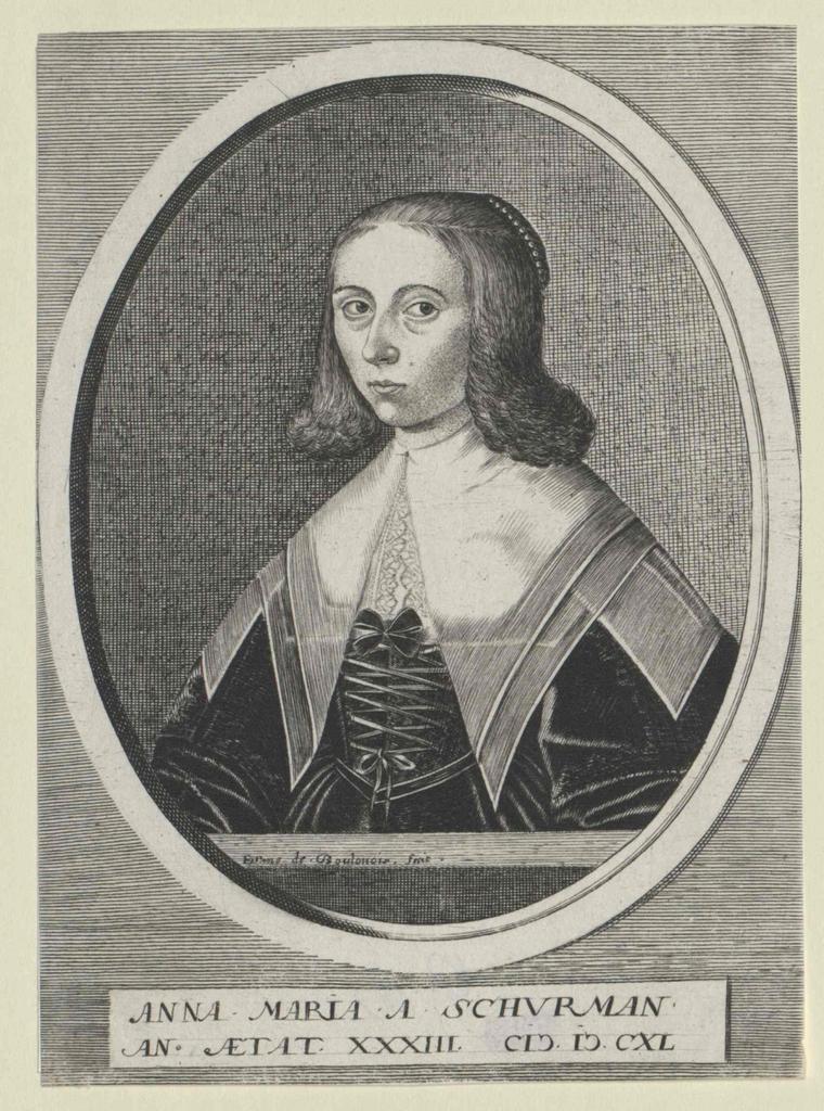 Schurman, Anna Maria van