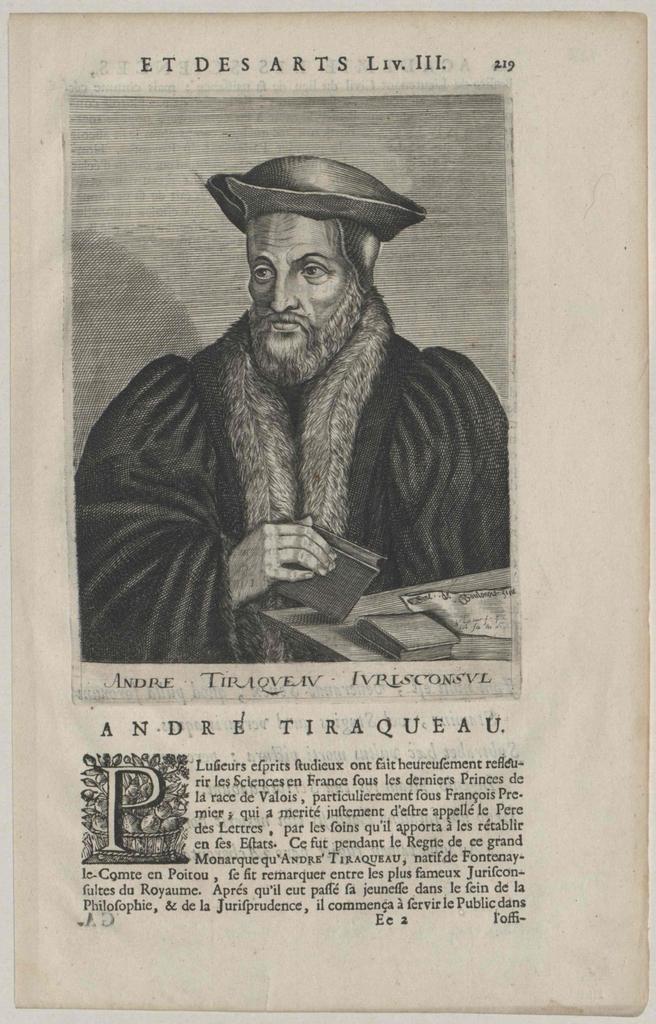 Tiraqueau, André