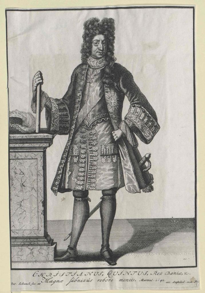 Christian V., König von Dänemark