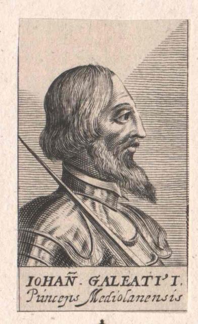 Johann Galeazzo Visconti, Herzog von Mailand