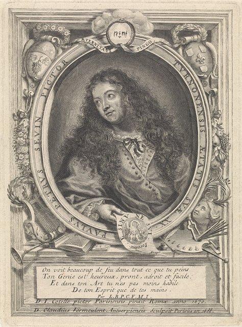 Portret van de schilder Petrus Paulus Sevin van Tours