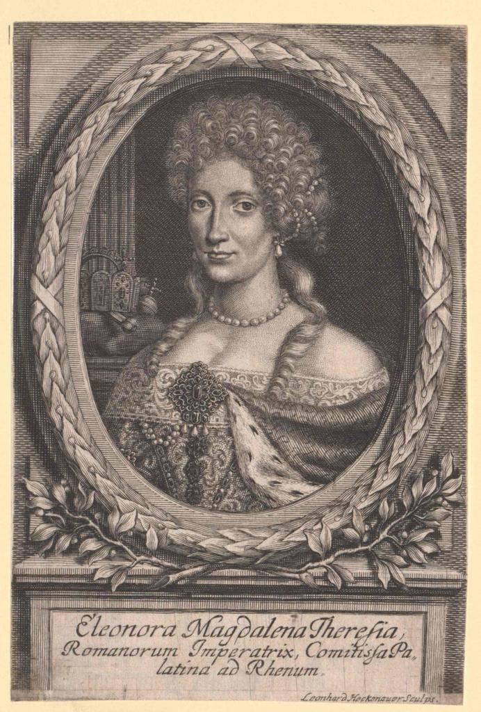 Eleonora Magdalena Theresia, Prinzessin von der Pfalz