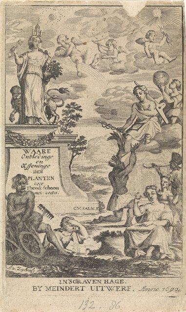 Allegorie op de plantkunde