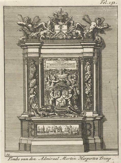 Graftombe van de admiraal Maarten Harpertszoon Tromp