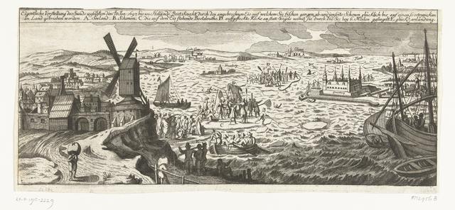 Redding van 100 Hollandse matrozen van het ijs in de Sont, 1697