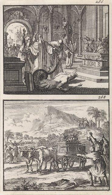 Ark des Verbonds in de tempel van Dagon / Terugkeer van de Ark des Verbonds