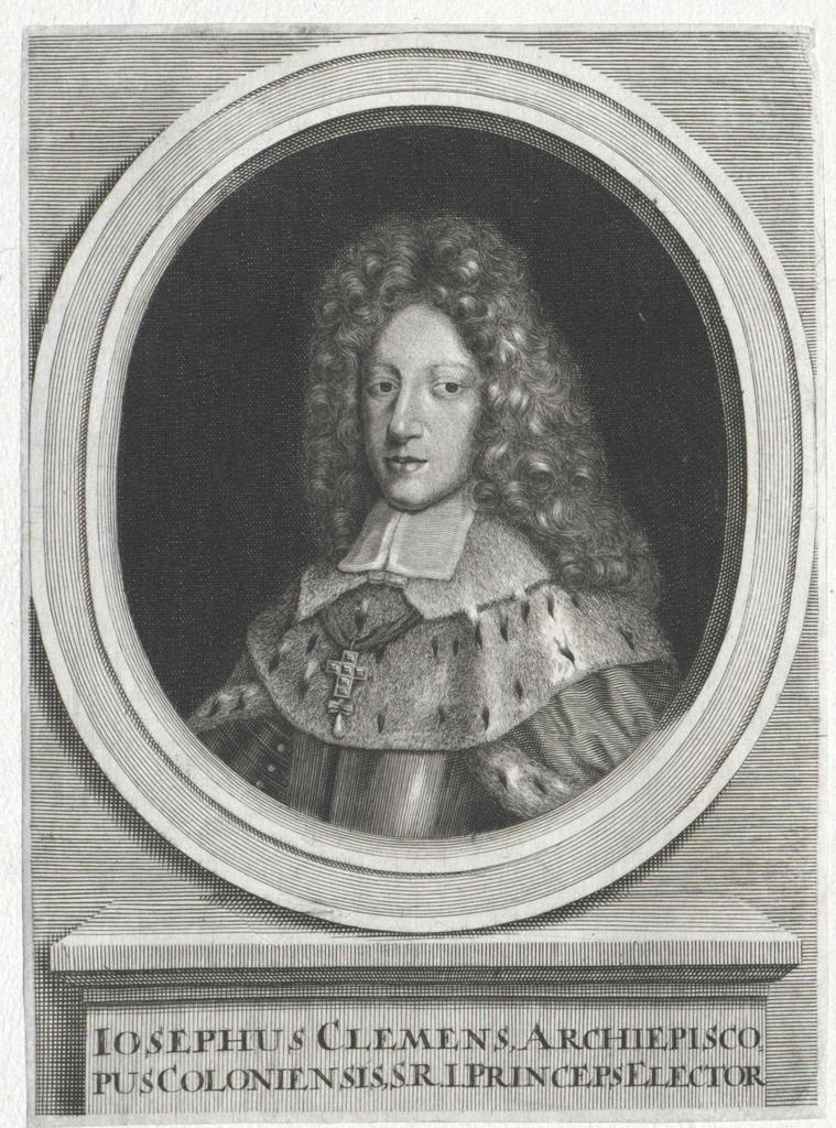 Josef Klemens, Herzog von Bayern, Kurfürst von Köln