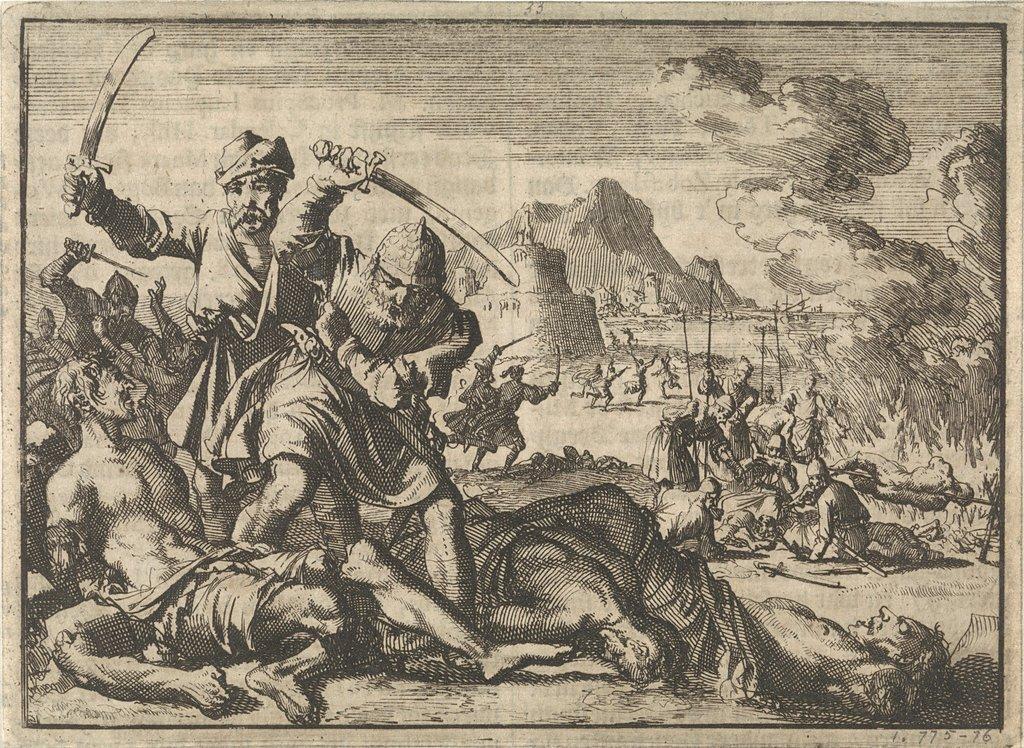 Turkse wreedheden in het gebied rond Venetië, 1614