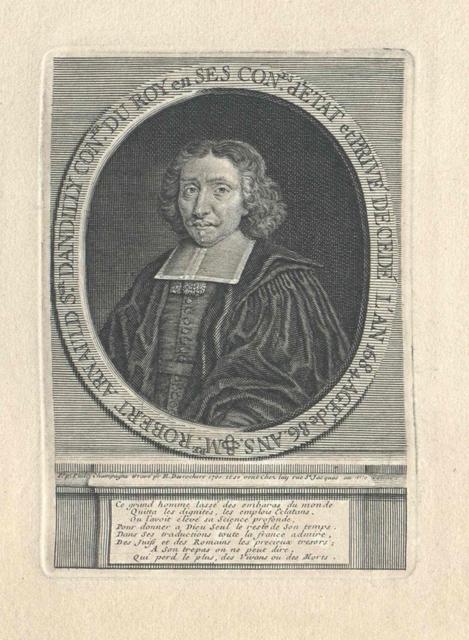 Arnauld d'Andilly, Robert