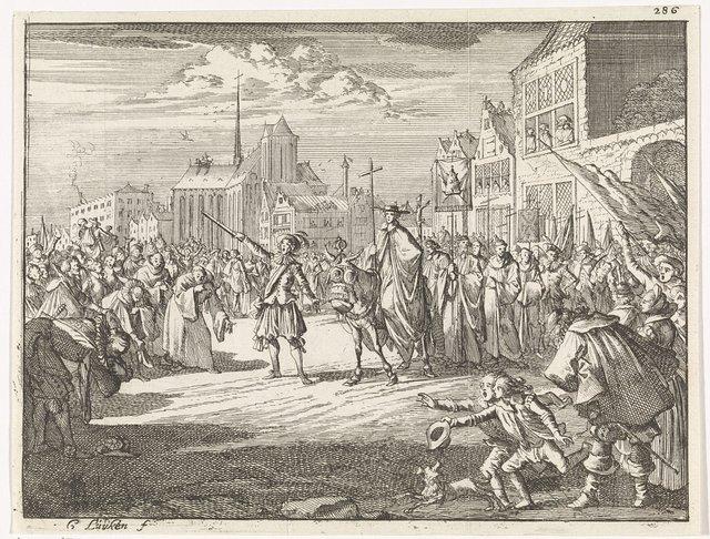 Kardinaal Nicolaas Cusa komt aan in de Nederlanden, 1451
