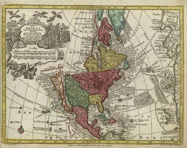 Nov. Orbis sive America septentrionalis divisa per sua regna provinc et insul : [tabula]