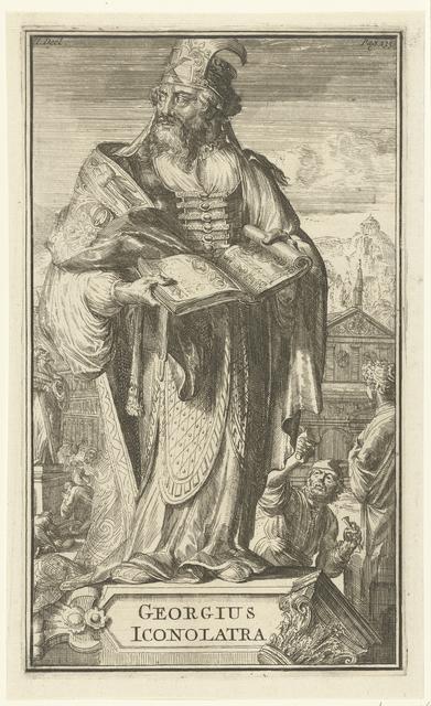 Portret van Georgius Iconolatra