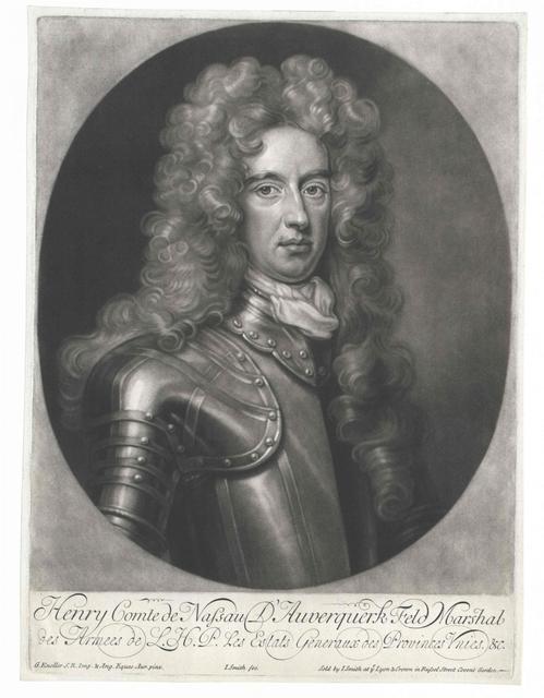 Nassau-La Lecq D'Auverquerk, Hendrik Graaf van