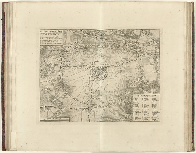 Beleg van Ath, 1706