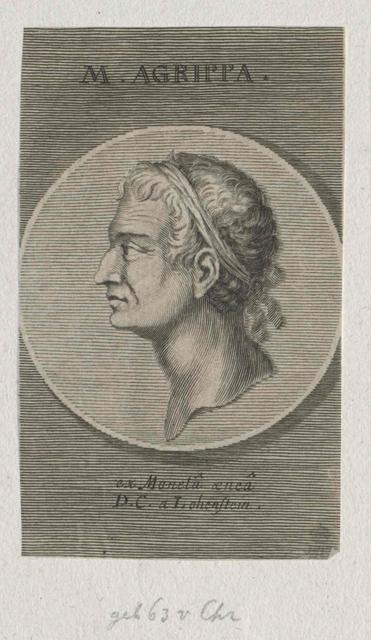 Agrippa, Marcus Vipsanius