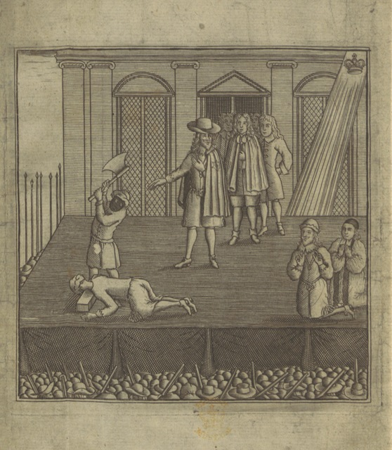 "play from ""[The Famous Tragedie of King Charles I. Basely butchered by those who are, Omne nefas proni patare pudoris inanes Crudeles, violenti, importunique tyranni Mendaces, falsi, perversi, perfidiosi, Fœdifragi, falsis verbis infunda loquentes. In which is included the several combinations and machinations that brought that incomparable Prince to the block, etc.]"""