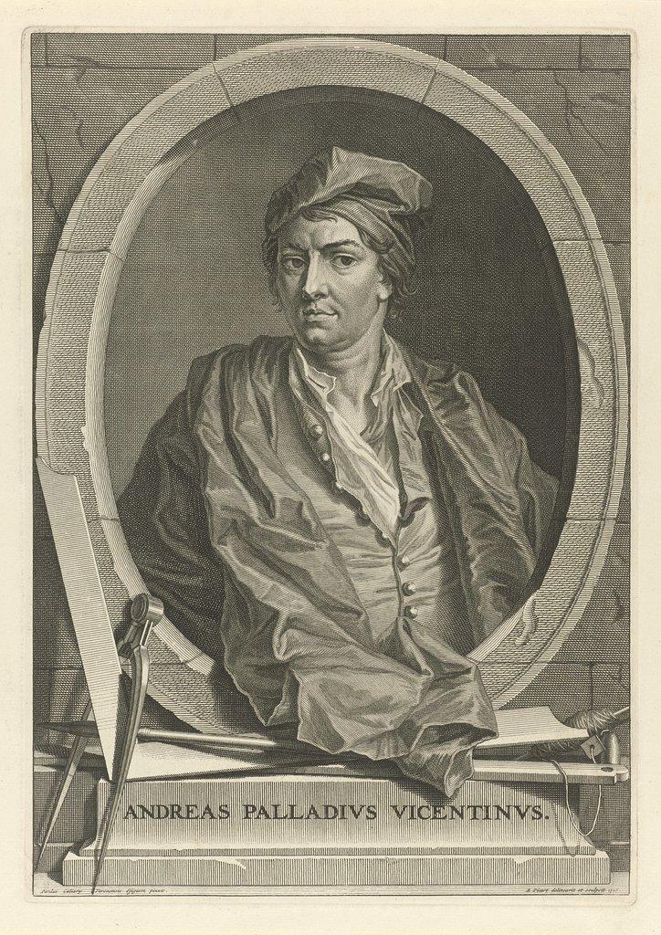 Portret van Andrea Palladio