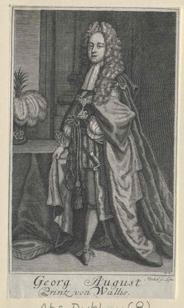 Georg II., König von England Kurfürst von Hannover