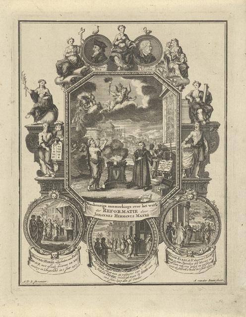 Allegorie op het tweede eeuwfeest van de Hervorming