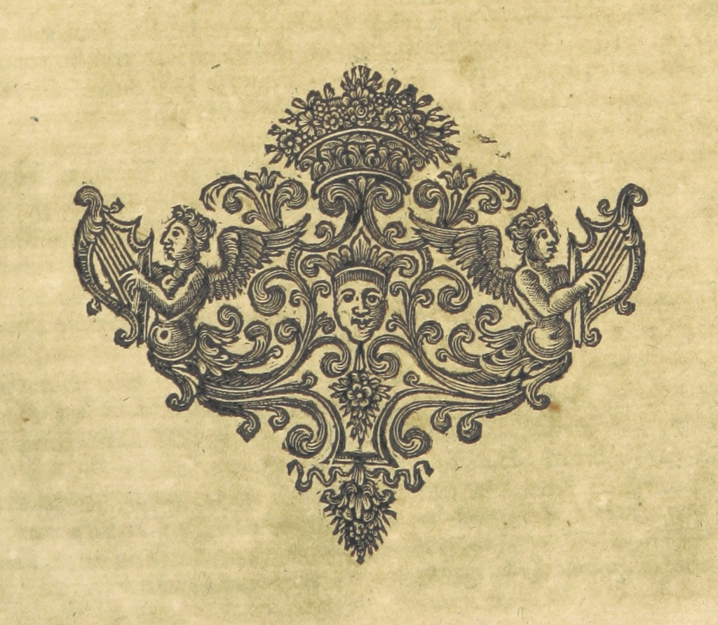 "Decoration from ""[The Works of John Locke, etc. (The Remains of John Locke ... Published from his original manuscripts.-An account of the life and writings of John Locke [by J. Le Clerc]. The third edition, etc.) [With a portrait.]]"""