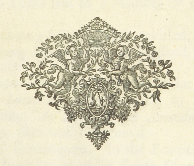 """decoration from """"[The Works of John Locke, etc. (The Remains of John Locke ... Published from his original manuscripts.-An account of the life and writings of John Locke [by J. Le Clerc]. The third edition, etc.) [With a portrait.]]"""""""