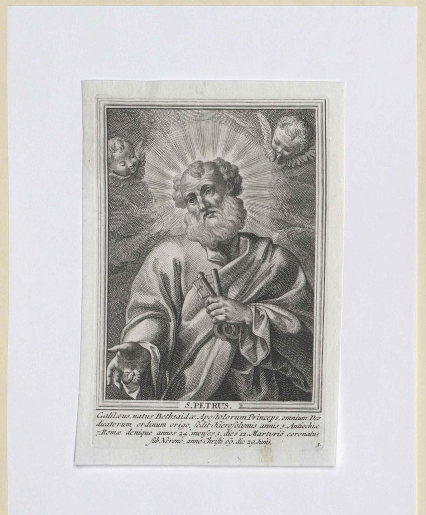 Petrus, Heiliger Apostel