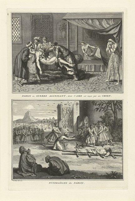 Perzische begrafenisrituelen