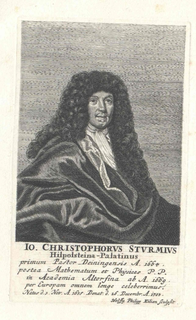 Sturm, Johann Christoph