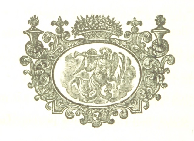 """Decoration from """"Poems on several occasions [with an account of the author by J. Spence.]"""""""