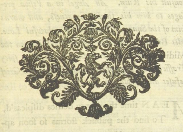 "Decoration from ""The History of Joseph. A poem. In eight books. By the author of Friendship in Death [Mrs. Elizabeth Rowe]"""