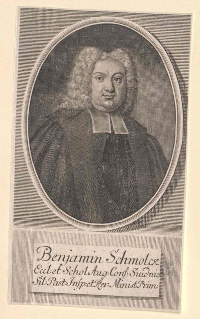 Schmolck, Benjamin