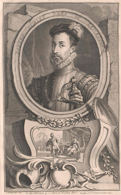 Dudley, 1. Earl of Leicester, Robert