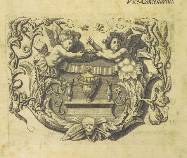 "portrait from ""Pietas Academiæ Oxoniensis in obitum ... Reginæ Carolinæ"""