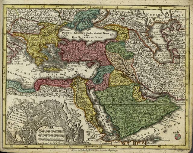 Magni turcarum dominatoris imperium : [tabula]