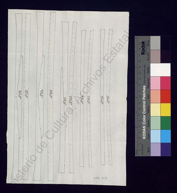 [Relacion de los Baos de madera de Roble que se nezesittan para las carenas del año proximo de 1759] [Material gráfico no proyectable]
