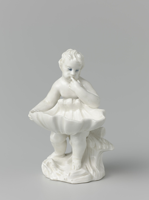 Salt cellar in the shape of a putto