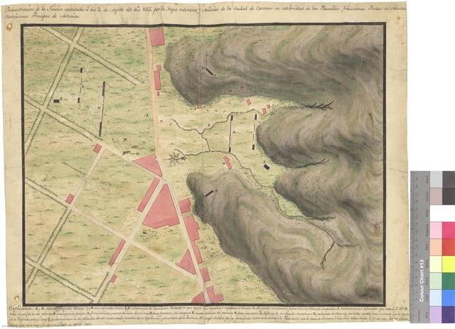 Demostración de la Función executada el dia 20 de Agosto del año 1766 por la Tropa veterana y Milicias de la Ciudad de Caracas en celebridad de las Plausibles felicisimas Bodas de Nuestros Serenísimos Principes de Asturias