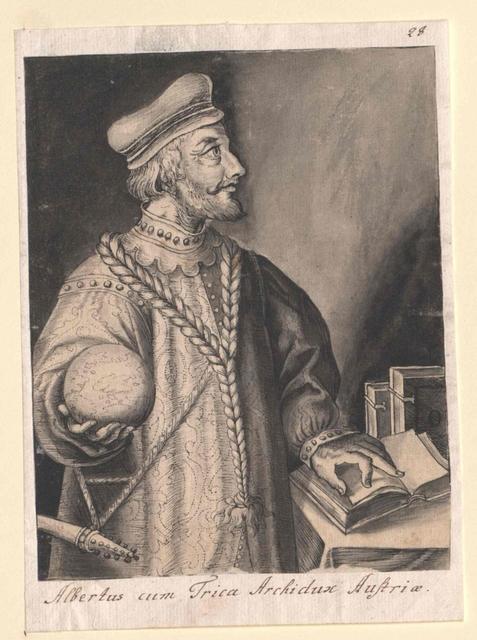 Albrecht III. mit dem Zopfe, Herzog von Österreich