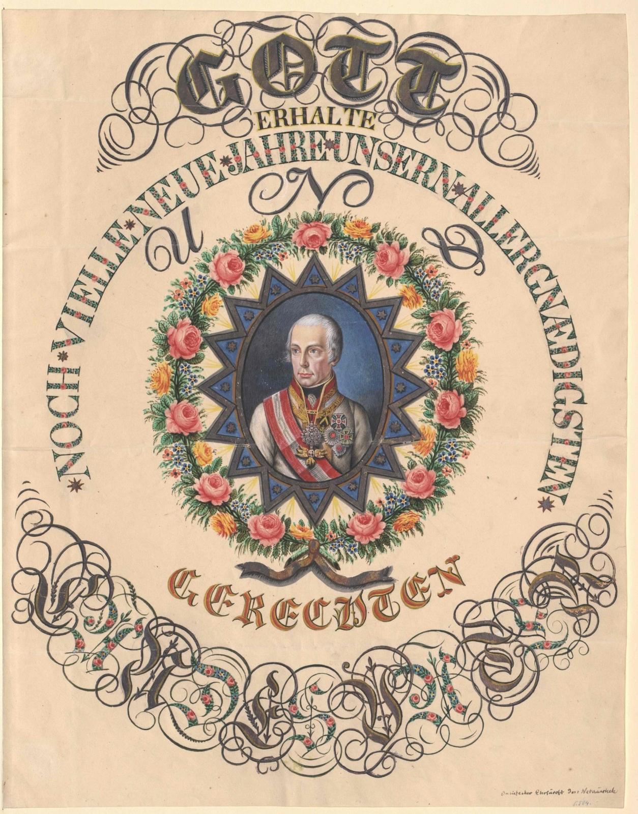 Bildnis Kaiser Franz I. von Österreich