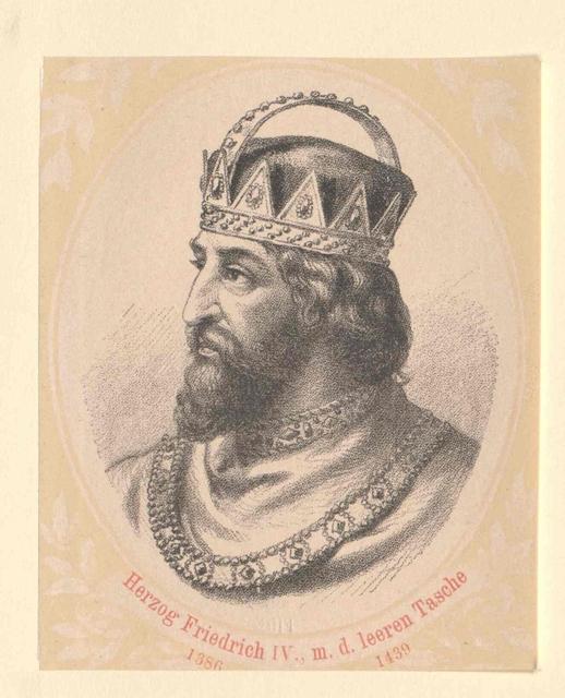 Friedrich IV. mit der leeren Tasche, Herzog von Österreich