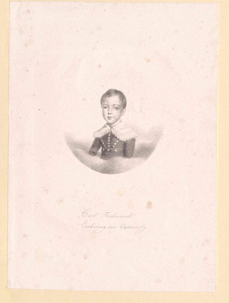 Karl Ferdinand, Erzherzog von Österreich