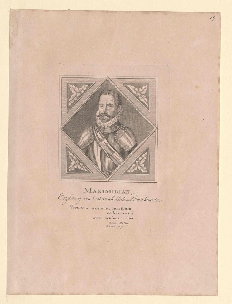 Maximilian, Erzherzog von Österreich