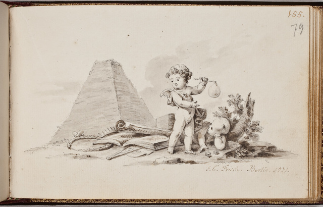Tekening / door J.C. Frisch, voor Laurentius van Santen (1746-1798)