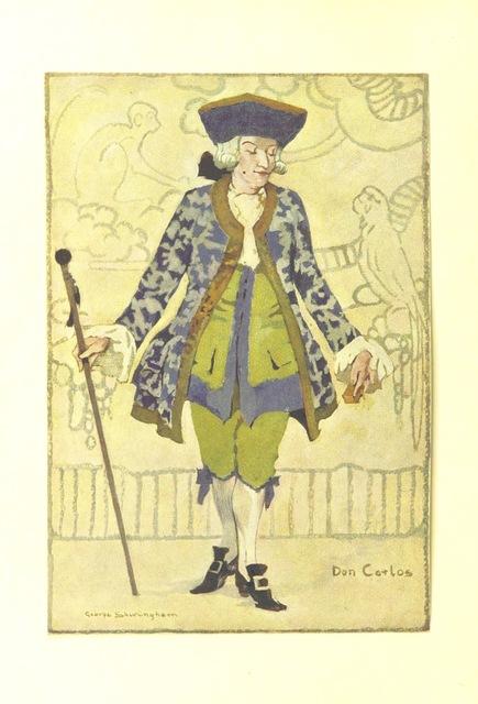 """dandy from """"[The Fashionable Lover.] Miss Obre oder die gerettete Unschuld. Ein Lustspiel in fünf Aufzügen nach dem Englischen des Herrn Cumberland. [The translator's preface signed: C. C. H. R., i.e. C. C. H. Rost.]"""""""